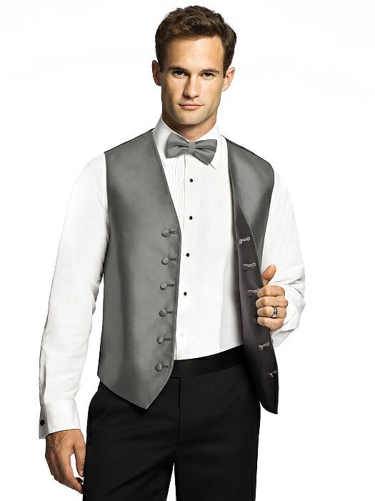 Reversible Tuxedo Vests by After Six On Sale