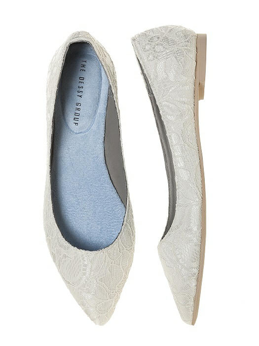 Lace Bridal Ballet Wedding Flats