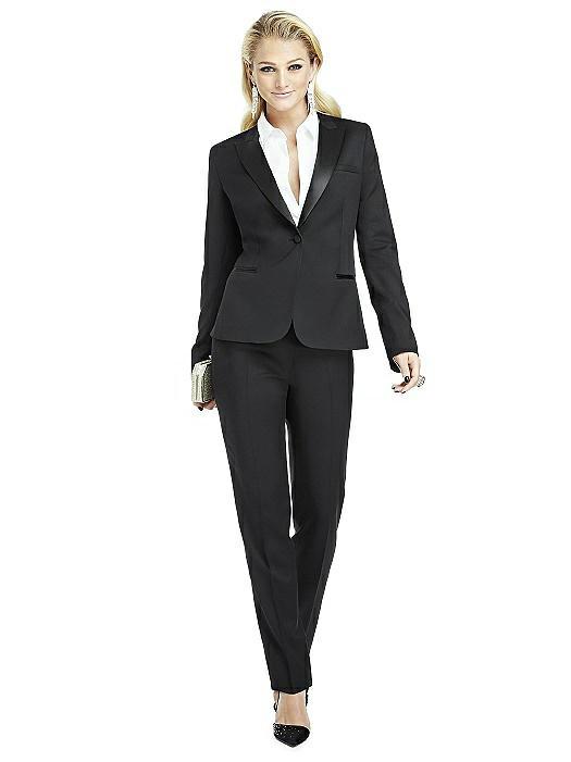 Women's Peak Collar Tuxedo Jacket - Marlowe by After Six