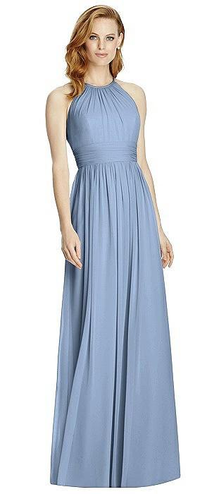 Studio Design 4511 Halter Long Bridesmaid Dress