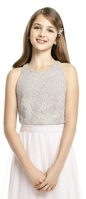 Dessy Collection Junior Bridesmaid Top JRT538
