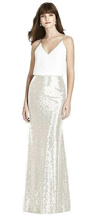 After Six Bridesmaid Skirt S1509