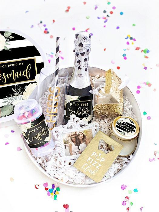 Thank You Bridesmaid Gift Box