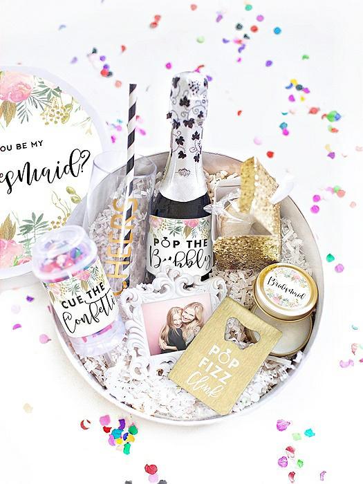 Will You Be My Bridesmaid Gift Box