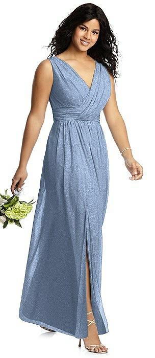 Dessy Shimmer Bridesmaid Dress 2894LS