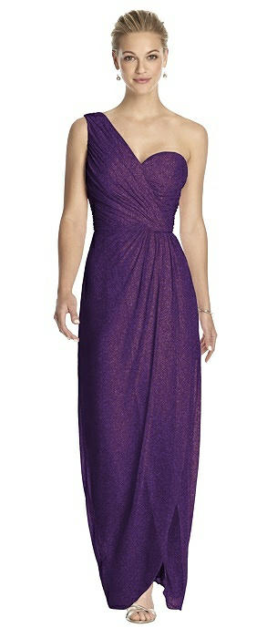 Dessy Shimmer Bridesmaid Dress 2905LS
