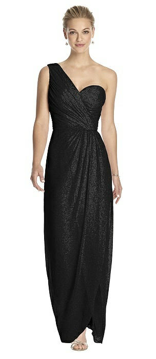 Dessy Shimmer Bridesmaid Dress 2905LS