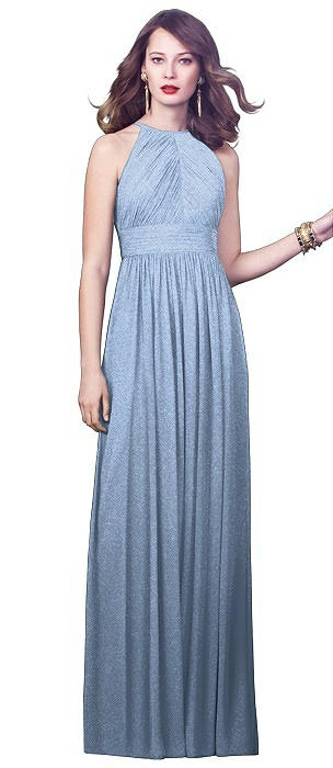 Dessy Shimmer Bridesmaid Dress 2918LS