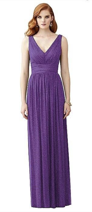 Dessy Shimmer Bridesmaid Dress 2955LS