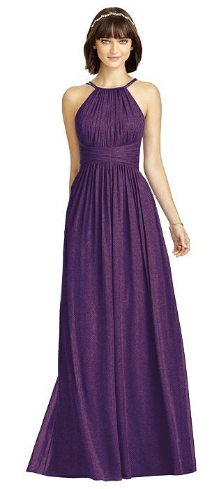Dessy Shimmer Bridesmaid Dress 2969LS