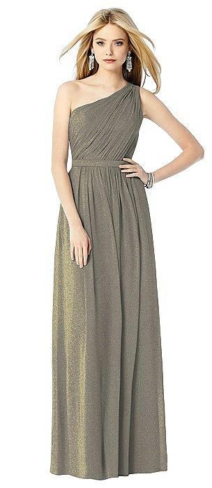 After Six Shimmer Bridesmaid Dress 6706LS