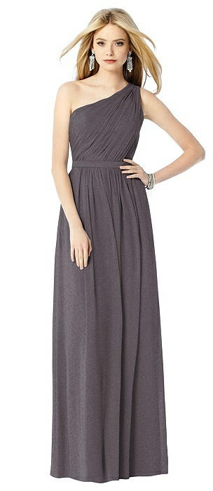 After Six Shimmer Bridesmaid Dress 6706LS