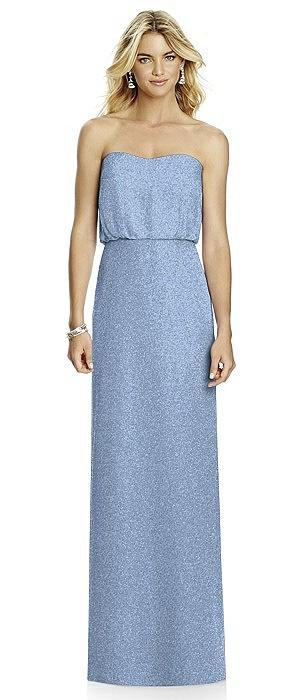 After Six Shimmer Bridesmaid Dress 6761LS