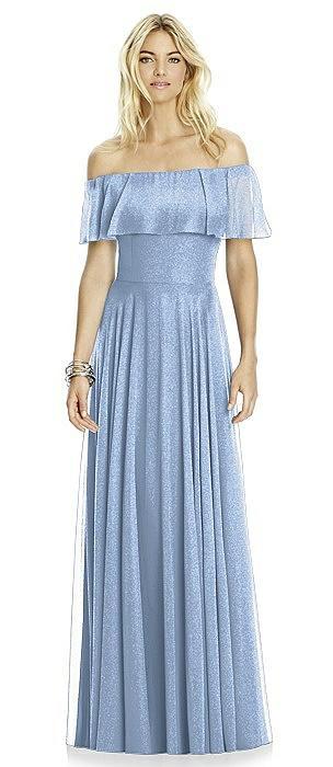 After Six Shimmer Bridesmaid Dress 6763LS