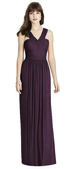 After Six Shimmer Bridesmaid Dress 6785LS