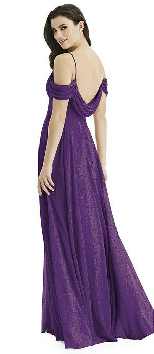 Studio Design Shimmer Bridesmaid Dress 4525LS