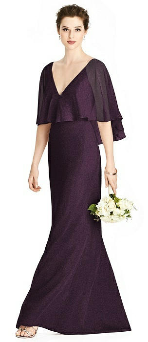 Studio Design Shimmer Bridesmaid Dress 4538LS