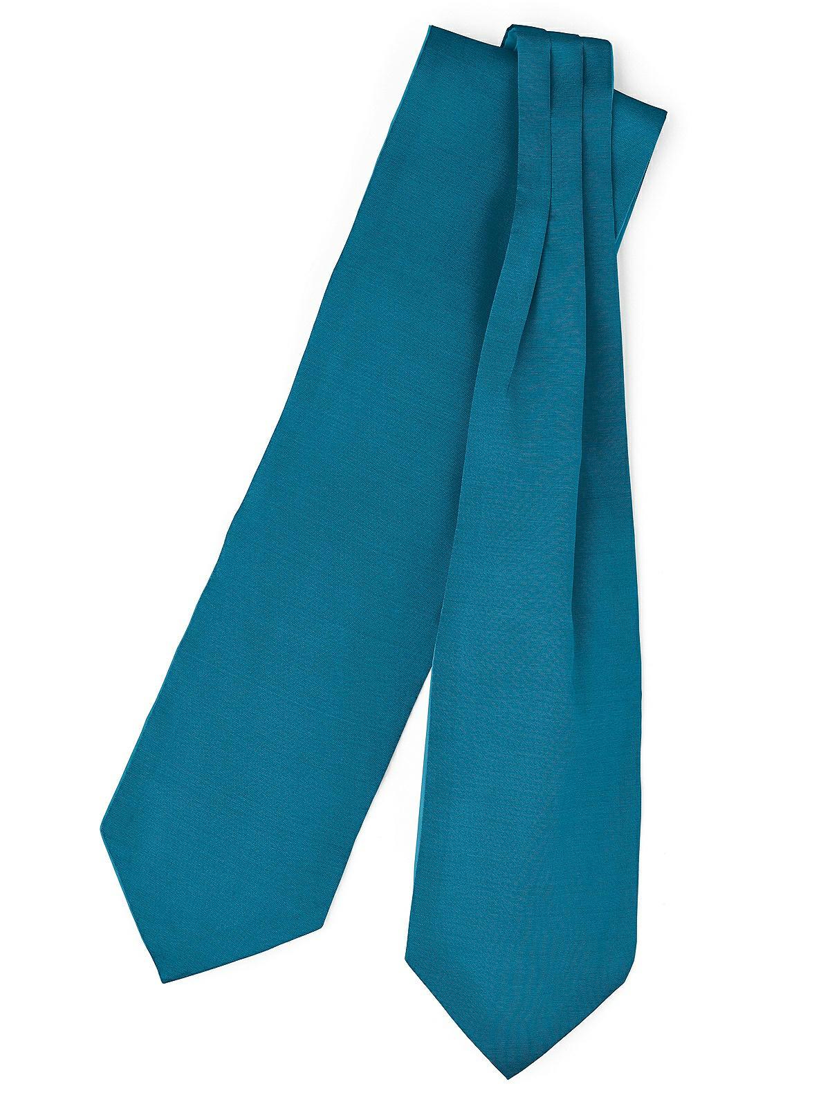 Atlantis Boys 14 Peau De Soie Zip Tie Necktie in Custom Colors by Dessy