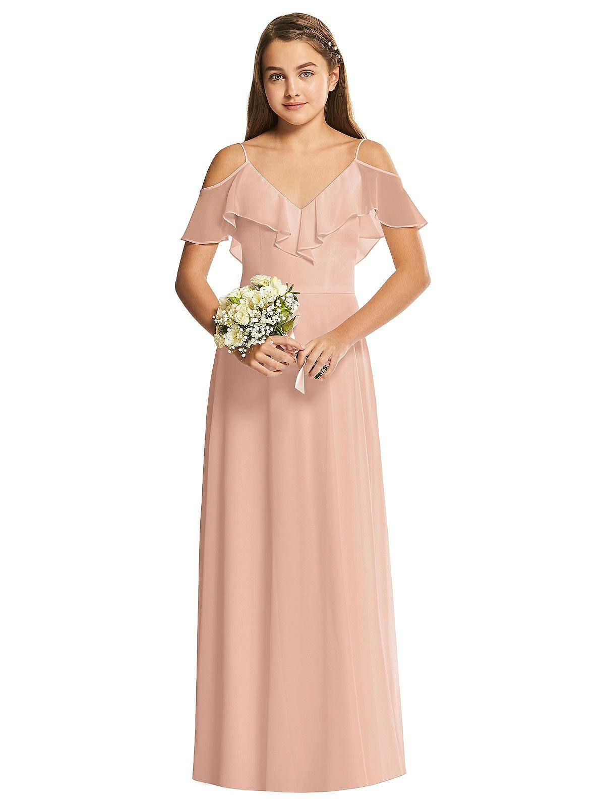 Junior Bridesmaid Dress JR548