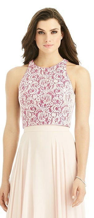 Sleeveless Lace Top