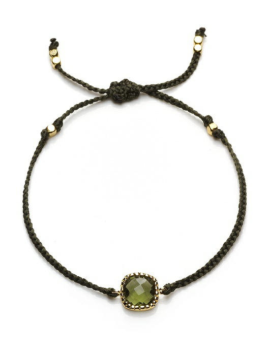 Friendship Bracelet with Stone Detail