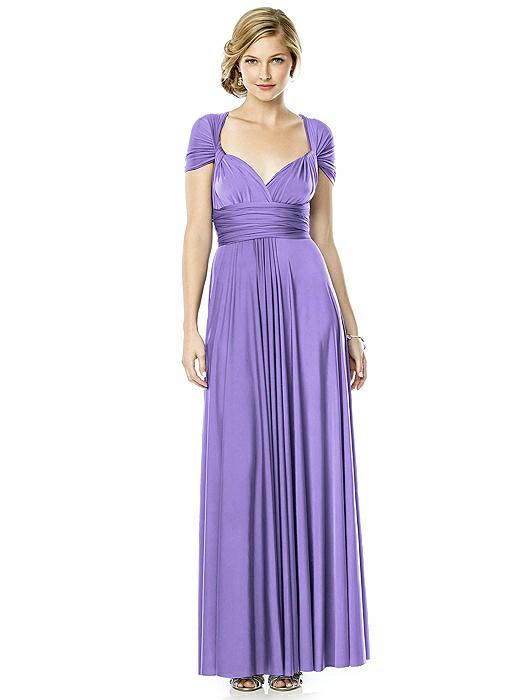 Twist Wrap Dress : Long