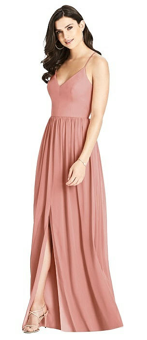Criss Cross Strap Backless Maxi Dress