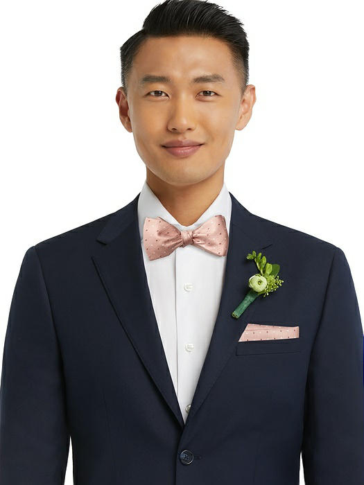 Modern Polka Dot Self-Tie Bow-Tie