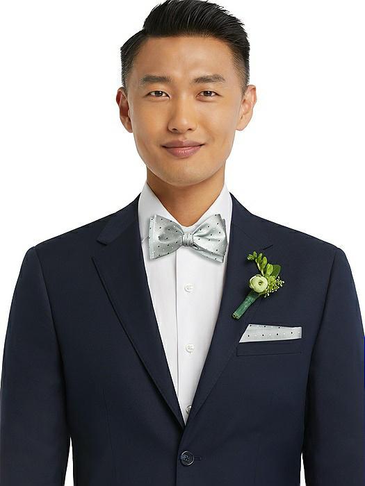Modern Polka Dot Pocket Square
