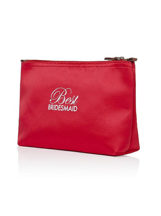 Best Bridesmaid Satin Cosmetics Bag