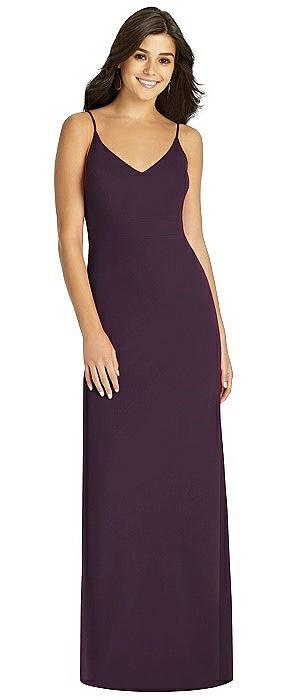Fishtail Skirt Stretch Maxi Dress