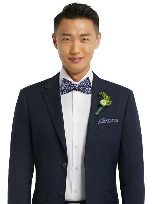 Arnit Floral Jacquard Self-Tie Bow-Tie