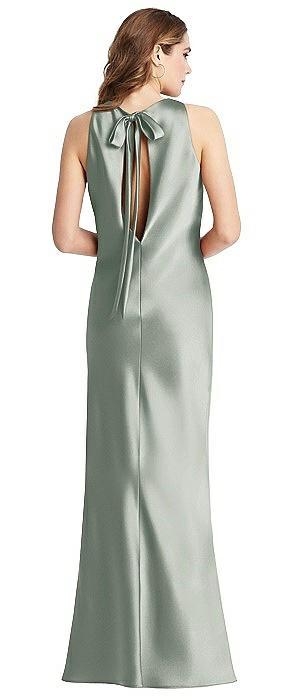 Tie Neck Low Back Maxi Tank Dress - Marin