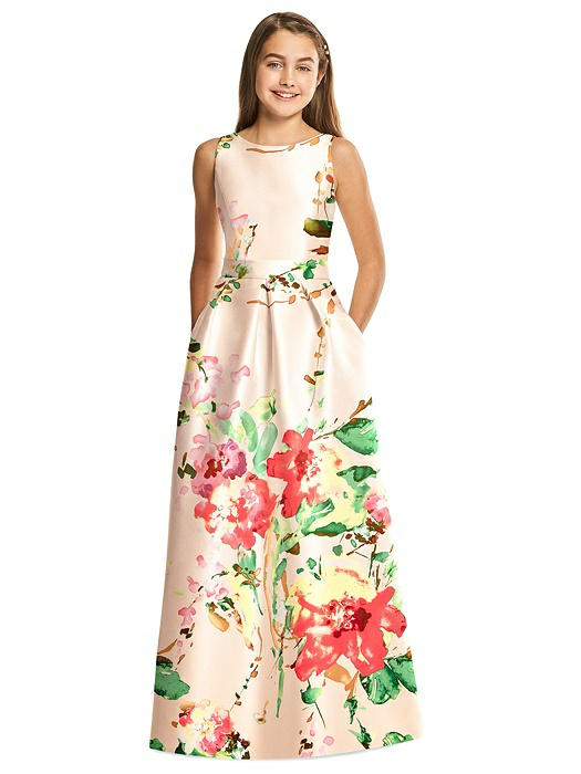 Alfred Sung Junior Bridesmaid Dress JR544FLOR