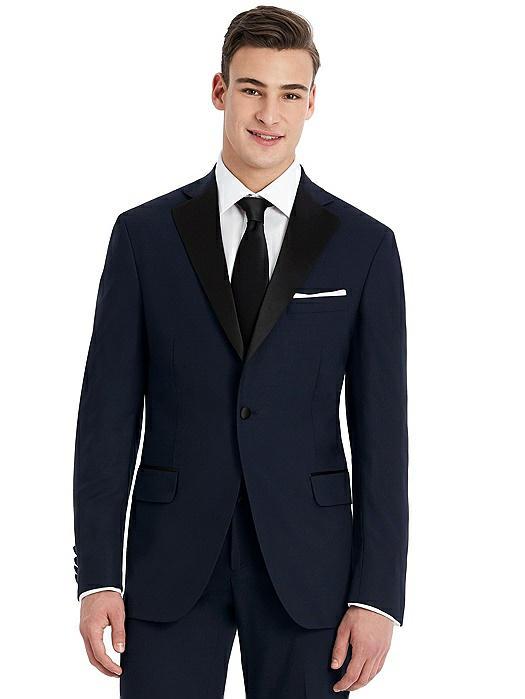Hardwick Navy Modern Fit Tuxedo Jacket