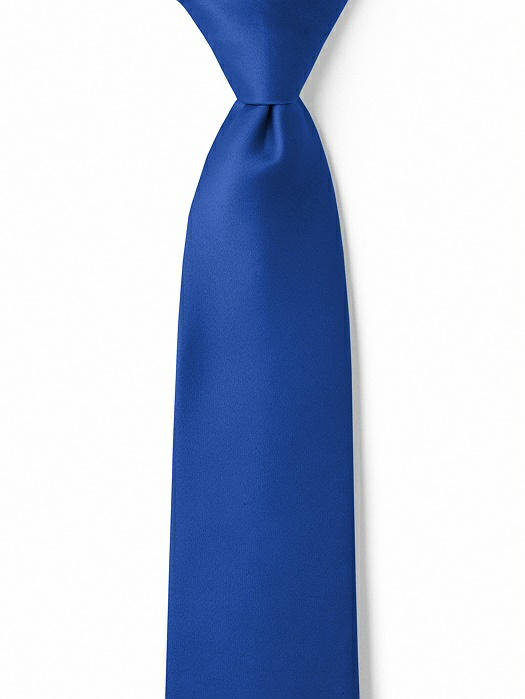 "Matte Satin Boy's 14"" Zip Necktie by After Six"