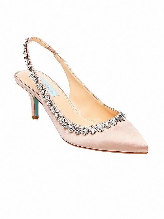Betsey Blue Cici Slingback Heels
