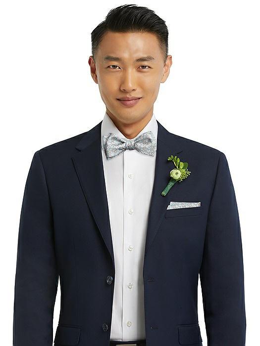 Arnit Floral Jacquard Pocket Square