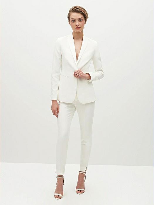 Women's White Tuxedo