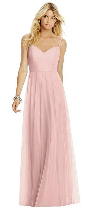 Sweetheart Spaghetti Strap Tulle Dress