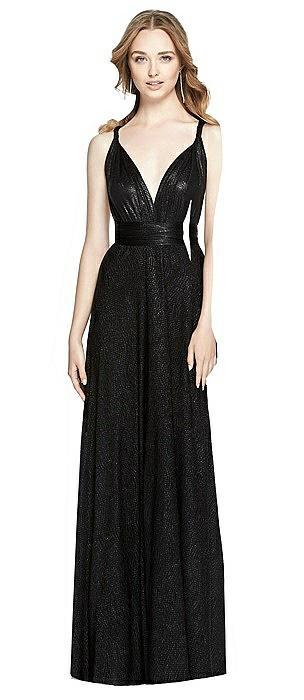 Soho Metallic Twist Dress
