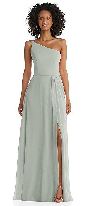 Lux Chiffon one shoulder dress