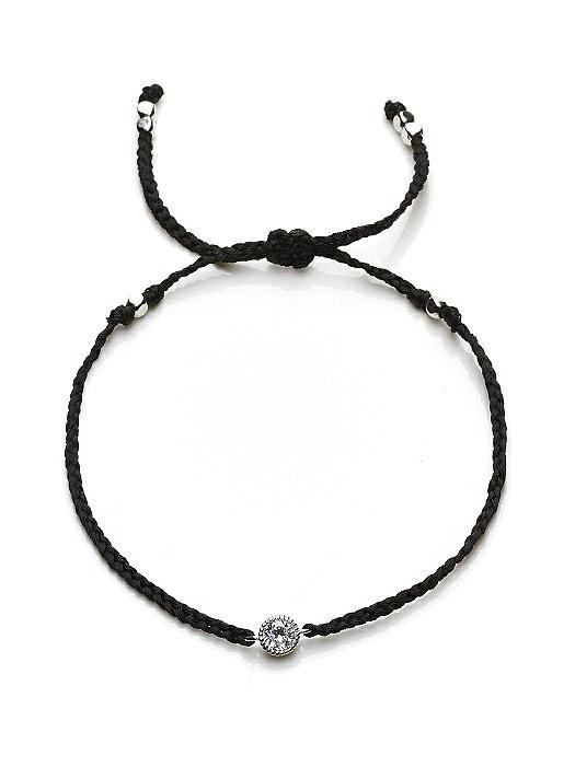 CZ Solitaire Friendship Bracelet