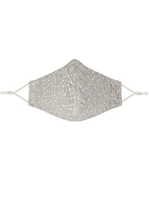 Victoria Sequin Lace Reusable Face Mask
