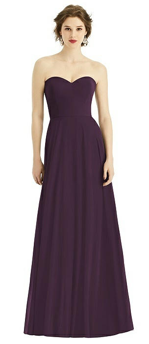 Strapless Sweetheart Gown with Optional Straps