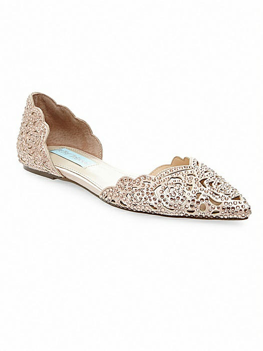 Betsey Blue Lucy Flat