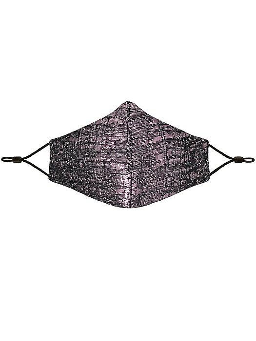 Metallic Brocade Reusable Face Mask