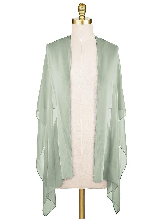 Sheer Crepe Stole