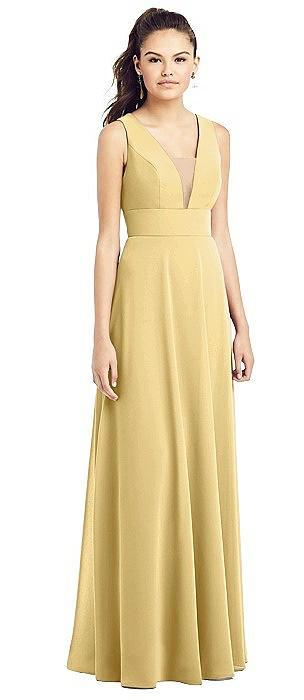 short lace yellow bridesmaid dresses