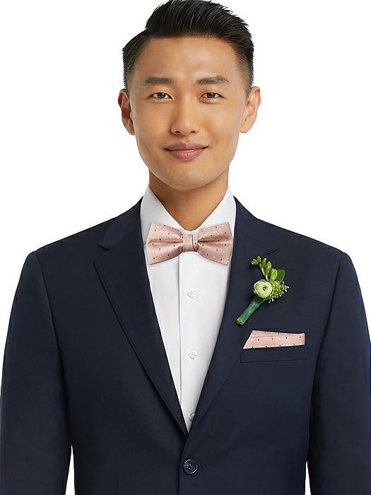 Modern Polka Dot Pre-Tied Bow-Tie